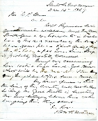 Mitchell, Robert autographed letter from Santa Fe, NM