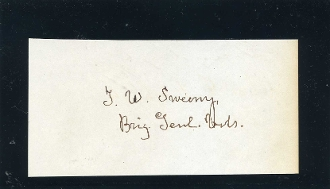 Sweeny,Thomas autograph