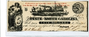 CSA North Carolina $5 Note, 1863, AU