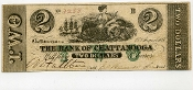 CSA Tennessee $2  1861 Note, VF