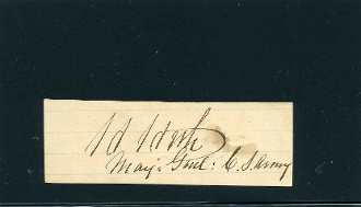 Heth, Henry autograph