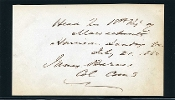 Barnes, James war date autograph