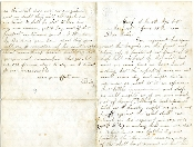 2nd Massachusetts Infantry soldier's letter/ Atlanta campaign