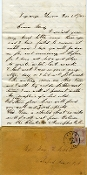 17th Illinois soldier's letter/ La Grange, TN