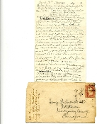 96th Pennsylvania Infantry soldier's letter/ Petersburg