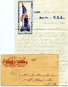 4th New Hampshire Infantry soldier's letter/ Morris Island, SC