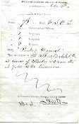 7th U.S. Colored Troops document / Jacksonville, FL