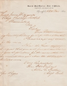 81st Illinois Infantry document