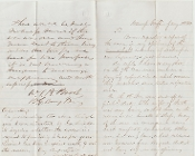 Brooks, W.T./ Theodore Read document/ Sickness in regiment