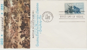 First Day Cover, Battle of Gettysburg, 1963 stamp