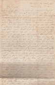 37th North Carolina Infantry soldier letter/ Battle of New Bern
