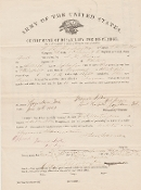 1st Vermont Cavalry/ 13th Massachusetts Infantry document