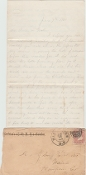 21st Massachusetts Infantry soldier's letter/ Battle content
