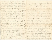 36th Ohio Infantry soldier's letter/ Battle of Missionary Ridge