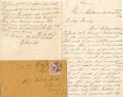152nd New York Infantry soldier's letter/ Ft. Steadman, VA