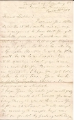 81st New York Infantry soldier's letter/ In front of Petersburg