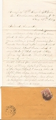 86th New York Infantry soldier's letter/ Petersburg