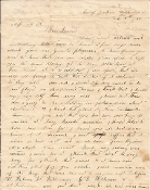 54th Virginia Infantry soldier's letter