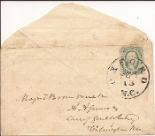Confederate Cover/ 24th North Carolina Infantry/ Oxford, NC
