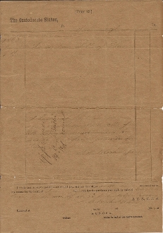 Butler, Matthew document signed/ 2nd South Carolina Cavalry