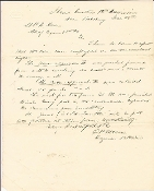 18th Illinois Infantry document/ Siege of Vicksburg