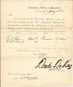 84th New York Infantry/14th New York S.M./ Drake DeKay document