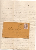 117th New York Infantry soldier's letter/ Folly Island, SC