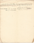 1st Massachusetts Infantry document/ Lt. Mudge