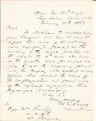 100th New York Infantry letter/ Burning Negro Quarters