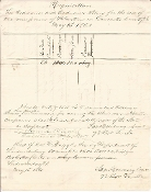 Ruggles, Daniel 1861 autographed document