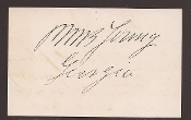 Young, Pierce M. B. autograph