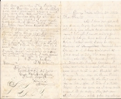 2nd Rhode Island Infantry soldier's letter/ Peninsula campaign