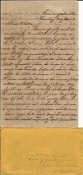 CSA 3rd Missouri Cavalry soldier's letter/ Summerfield, Alabama