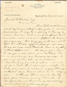 Walker, James autograph letter/ Telephone use
