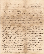 Tracy, Edward autograph letter signed/ Macon, Georgia
