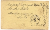 Washington D.C., Due 3 on cover from 175th PA Infantry soldier