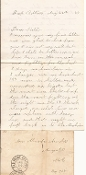 11th Maine Infantry soldier's letter/ Battle content