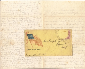 29th Massachusetts Infantry soldier's letter/ Newport News