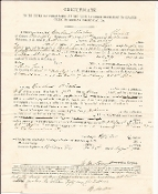 23rd Indiana Infantry document/ KIA Vicksburg.MS