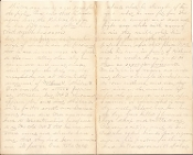 13th Massachusetts Infantry letter/ Shenandoah Valley campaign