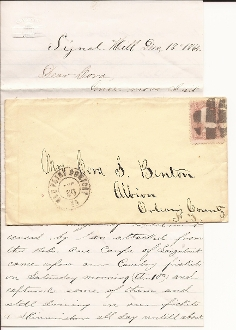 17th New York Lt. Artillery letter/ Longstreet's Corps Attack