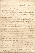 4th Rhode Island letter/ Battle of the Cornfield at Antietam