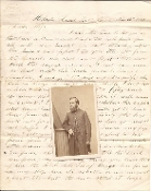 4th New Hampshire Infantry soldier's letter/Battle of Port Royal
