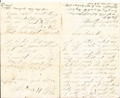 106th New York Infantry soldier's letter/ Battle of Monocacy, MD