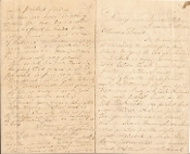 209th Pennsylvania Infantry soldier's letter/Siege of Petersburg