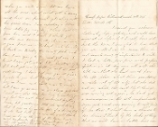 17th Massachusetts Infantry soldier letter/ VA Overland campaign