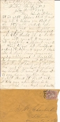 14th New York Heavy Artillery soldier's letter/ Petersburg, VA