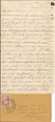 114th Pennsylvania Infantry soldier's letter/ Chancellorsville