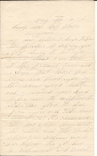 107th Pennsylvania Infantry soldier's letter/ Chancellorsville
