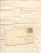29th Massachusetts soldier's letter